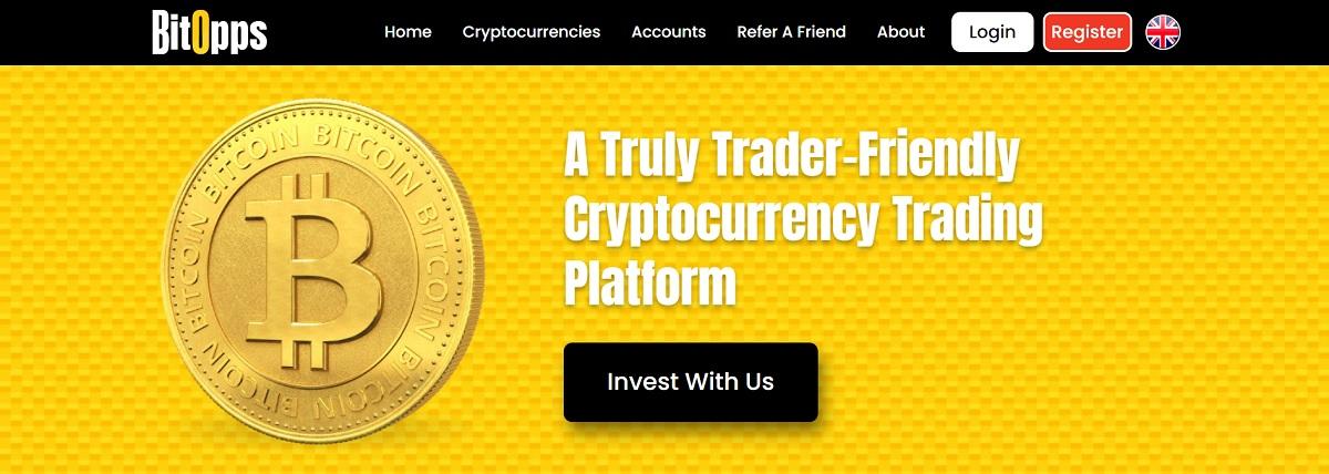BitOpps homepage